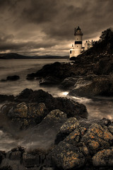 Cloch Lighthouse, Gourock (GraBor) Tags: longexposure scotland clyde gourock inverclyde clochlighthouse