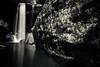 Eagle Falls Among the Rocks (JGo9) Tags: statepark park longexposure blackandwhite bw cliff nature water rock stone landscape waterfall kentucky ky smooth falls ledge splash cumberlandfalls eaglefalls bolder cumberlandfallsstatepark 10stopndfilter canont1i