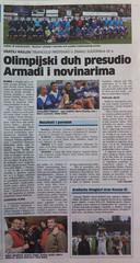 Olimpijski duh presudio Armadi (Novi List, 17.05.2012)