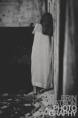 HAUNTED (Erin Watson/Abandoned Exploration) Tags: summer portrait woman abandoned canon dark photographer indiana haunted creepy nightmare gown 2012 erinwatson erinwatsonphotography