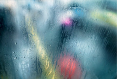 Heavy rain bore everyone's talk away (miu37) Tags: street rain umbrella tokyo rainyday artlibre grd4