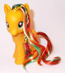 2013 Applejack (Crazy Hair Variant) (DerpyDerp910) Tags: is friendship little magic pony fim mlp applejack my