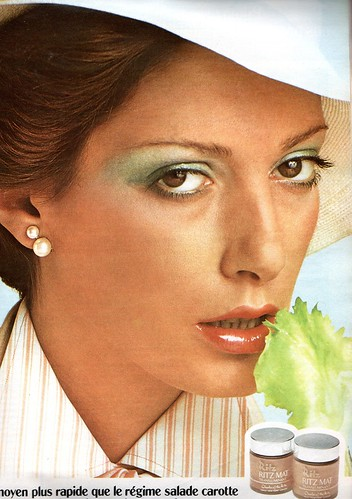The 1970s-1974 ad for cosmetics