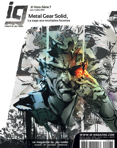 Couverture IG HS 7 Metal Gear Solid