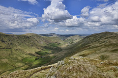 Boredale (mjb868) Tags: mountains clouds walking landscape nationalpark scenery solitude lakes lakedistrict rocky trail cumbria fells mountaineering vista peaks tarn rugged rambling moorland d7000 mjb868