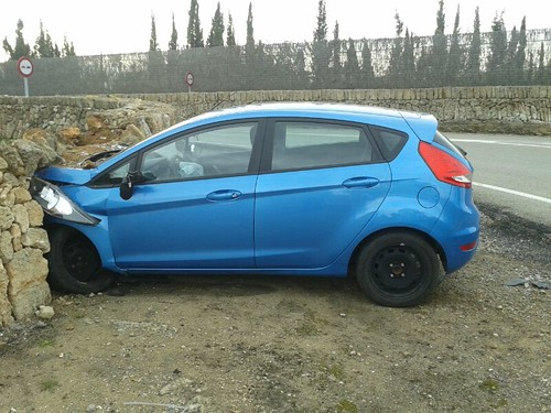 Ford Fiesta chocado