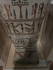 Unnamed Coffin--Bottom Registers (meechmunchie) Tags: coffin ancientegypt ptolemaic cincinnatiartmuseum canopicjars lateperiod