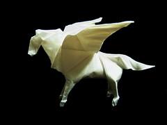 Pegasus (Al3bbasi.) Tags: horse art animal paper origami pegasus fantasy mythical wingedhorse al3bbasi
