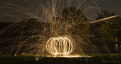 Steel Wool Light Graffiti (Sweet Alize) Tags: friends lightpainting wool fun fire photography steel creative lightgraffiti trickphotography steelwool creativ creativephotography