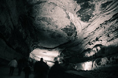 Unimaginable Scale (_Codename_) Tags: blackwhite nationalpark kentucky mammothcave cave splittoning