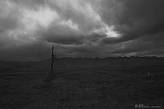 Xigaze of the gobi. This is a dark photography wo... (maya_jason) Tags: 风景 黑白 西藏 旅游 纪实 人文