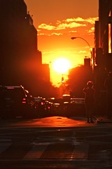 Manhattanhenge in New York - July 13