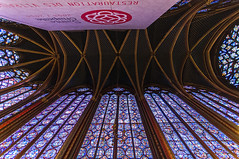 Sainte-Chapelle Interior 1 (bvi4092) Tags: travel paris france building church window architecture photoshop nikon worship europe interior religion sigma chapel stainedglass ceiling stained 1020 saintechapelle sigma1020 d300s