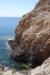 Torrent des Ras (RS_1978) Tags: sea mer water mar eau meer wasser mediterranean mare acqua formentera  esp spanien mediterraneansea baleares mittelmeer  gewsser bodyofwater tenduedeau sonycybershotdscrx100