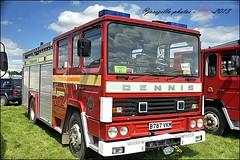 dennis SS.133- Water Tender/Ladder  1985 @ earls barton show (josszilla) Tags: rescue restored emergency preservation fireengines