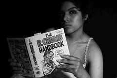 I am not here to be polite (Giovanni Savino Photography) Tags: portrait beauty comics reading book comicbook robertcrumb polite bedtimereading magneticart giovannisavino