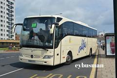 Alfa Chorley 74, BU13ZTT. (EYBusman) Tags: alfa travel coaches chorley lancashire independent bus coach south marine drive bridlington east yorkshire mercedes benz tourismo brand new bu13ztt eybusman