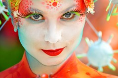 World Bodypainting Festival (stopete60) Tags: color girl beauty face eyes body bodypaint