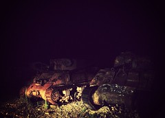 Abandoned Tanks (Zach Oravetz) Tags: uploaded:by=flickrmobile flickriosapp:filter=mammoth mammothfilter