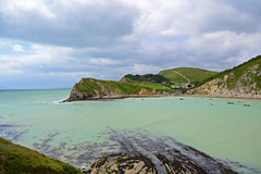 Lulworth Cove (Lance Featherstone) Tags: seascape landscape cove dorset lulworth lulworthcove