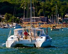 Coming in to Port (Timothy Valentine) Tags: vacation boats boat maine large belfast 0812 sliderssunday afsnikkor28300mmf3556gedvr