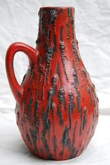 "Ceramano vase ""Rubin"" (westgpottery) Tags: art vintage studio ceramic design 60s retro german 70s vase midcentury atelier rubin wgp handarbeit fatlava ceramano"