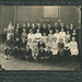 Crisman School, Students and Teachers Group Photograph, circa 1920 - Crisman, Indiana