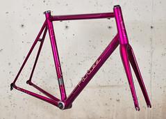 Z-Zero Custom (parleecycles) Tags: usa bike bicycle cycling hand purple massachusetts retro made cycle beverly carbon custom fiber zero kandy built pinstriping parlee z0 boxlining zzero parleecycles