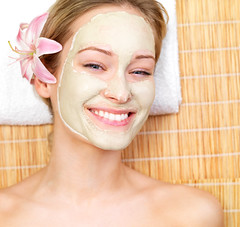 Smiling beautiful woman with face mask (RoyalSiamBeauty) Tags: girls portrait people woman flower girl beautiful beauty smile face smiling closeup lady female relax happy person healthy model women pretty mask mud natural skin young relaxing cream lifestyle happiness towel medical mat health attractive serene females therapy care relaxation lying spa healthcare luxury facial wellness treatment caucasian wellbeing skincare