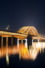 Banghwa Bridge,  (bluesbird83) Tags: bridge light night canon korea seoul   banghwa    5dmarkiii