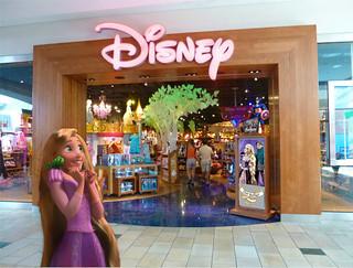 Rapunzel's Disney Store Trip!