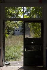 (LDASilvio) Tags: door new summer camp abandoned broken window decay nj jersey