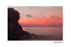 getting better (J.o.e.9.7) Tags: longexposure sunset seascape black smooth calm 7d cannon bridlington