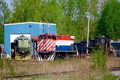 MHWA 2042 (ironmike9) Tags: railroad man engine rail railway rr locomotive freight alco mlw c425 m420w mhwa mohawkadirondacknorthern