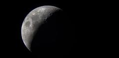 Waxing Crescent - 23rd May 2015 (Staffs, UK) (DonCarlosRutter29) Tags: sky moon night lunar