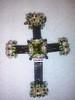 Terminando cruz Lucrecia (Abalorios Ivanna) Tags: cruz swarovski miyuki perlas lucrecia delicas