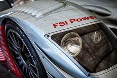 Audi R8 (speedcenter2001) Tags: wisconsin vintage headlights racing historic mans le petrol roadamerica elkhart audi fm motorsports r8 vintageracing elkhartlake roadcourse nikkors55mmf12 teamjoest