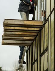 Rénovation de la serre en janvier 2015