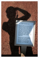 Interpretation - Rust Colored Hills (R. Drozda) Tags: sign oregon landscape spring desert nps vegetation volcanic interpretation johndayfossilbedsnationalmonument paintedhillsunit usnps drozda