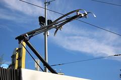 Nieuwe stroomafnemer op de 2061! (AMSfreak17) Tags: amsterdam siemens leidseplein 13g gvb ov 2061 combino vervoer openbaar 14g amsfreak17