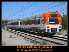 Otro menos naranjita (Powell 333) Tags: madrid españa train canon tren trenes eos spain media rail railway trains 7d estacion powell electro railways caf mitsubishi odonnell estación 008 distancia ferrocarril renfe enlace 448 adif ffcc enlaces operadora o´donnell mediadistancia renfeoperadora eos7d canoneos7d electrotren renfemediadistancia 448009