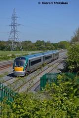 22049 outside Hazelhatch, 23/5/15 (hurricanemk1c) Tags: irish train rail railway trains railways irishrail rok rotem 2015 hazelhatch icr iarnród 22000 22049 éireann iarnródéireann 3pce hazelhatchandcelbridge 1230heustonnewbridge