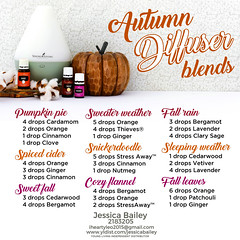 06-Autumn Diffuser Recipe Blends (Jessica Bailey YLEO) Tags: yleo essential oils young living autumn fall recipes wellness oil oily mom body system support