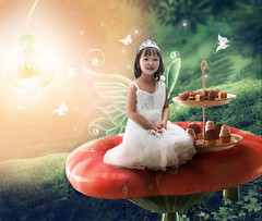 Little fairy girl (colorcoolphoto) Tags: fairy wood forest green girl little tale grass magic dark darkness surreal tree fog sparkle outdoor leaves dream dreamy adventure mystery mysterious fantasy fairytale enchanted plant moss imagination imagine wild nature landscape sitting wings dust child glitter angel person childhood pretty delicate austria