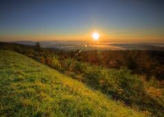 Skyline Drive Sunrise (clearlanding) Tags: sunrise shenandoah park nps virginia mountains nikon 1635mm nikkor d610 formatthitech firecrest 12 gnd filter