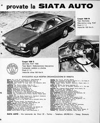 1962 Siata 1500 Coupe 2+2. (aldenjewell) Tags: 1962 siata 1500 n s 22 fiat ad
