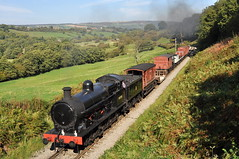 20111001   49395 (paulbrankin775) Tags: lnwr superd super 49395 080 north yorkshire moors railway green end nymr steam smoke grosm grosmont