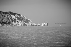 The Needles Isle of Wight ('Andy Kaye) Tags: andykaye andykayephoto andykayephotography andykelleher bw d810 englishchannel fx iow isleofwight lighthouse needles nikon nikond810 solent theneedles blackandwhite buoy camera colour fullframe landscape light lightroom manualmode nature nikonpassion outdoor outdoors photo photograph ripple ripples seascape seaside summer water waterway allrightsreserved