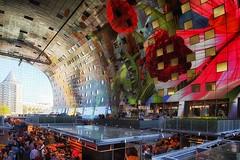 Inside The Market Hall Rotterdam/ Binnenin de Markthal van Rotterdam (jo.misere) Tags: rotterdam binnen markthal 1024mmtamron