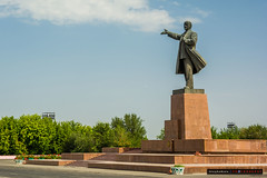 Lenin in Osh Town (@Tony_Hodson | www.tonyhodson.com) Tags: climbing mountaineering expedition altitude osh kyrgyzstan photography travel nikon d7100 tentlife mountain scenery